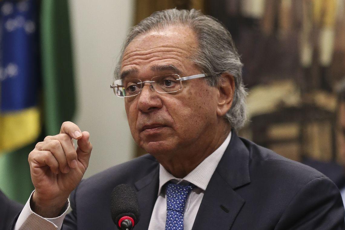 O ministro da Economia, Paulo Guedes - O ministro da Economia, Paulo Guedes