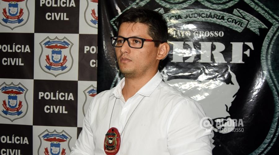 Imagem: Santiago Sanches delegado da DERF
