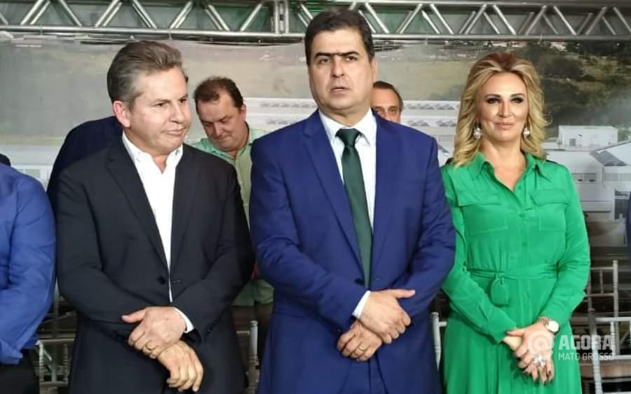 Imagem: Mauro Mendes e Emanuel Pinheiro