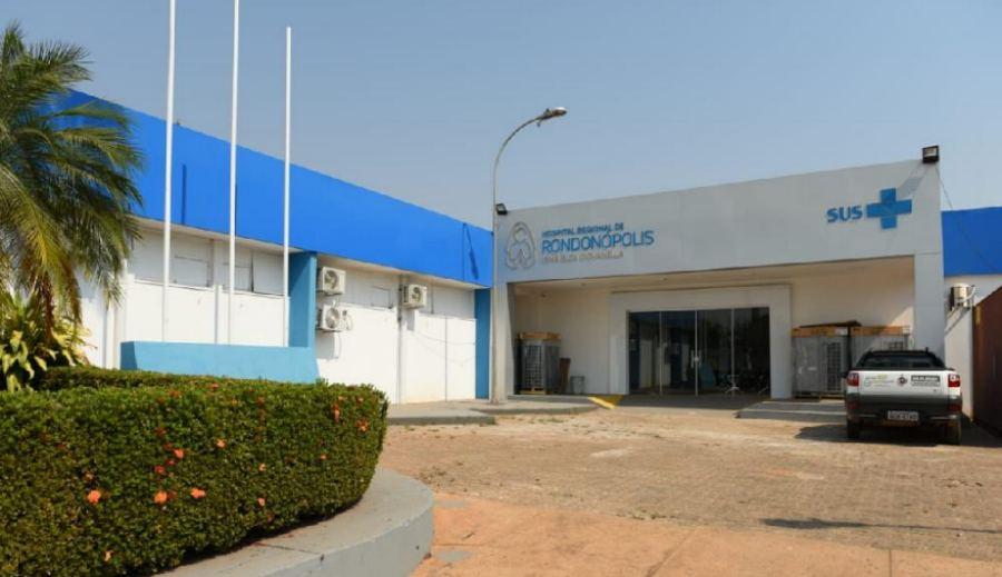 Imagem: Hospital Regional de Rondonópolis