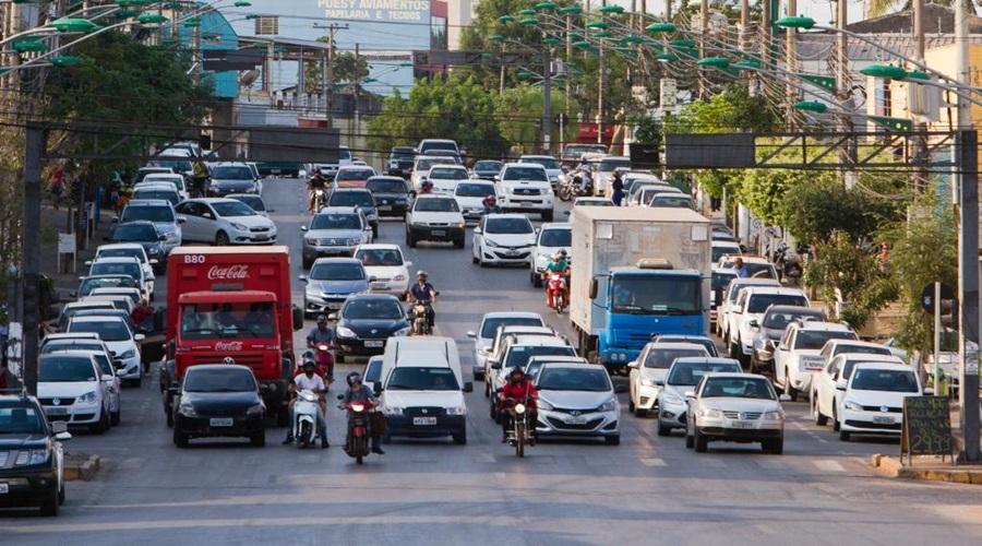 Imagem: Trânsito em Cuiabá