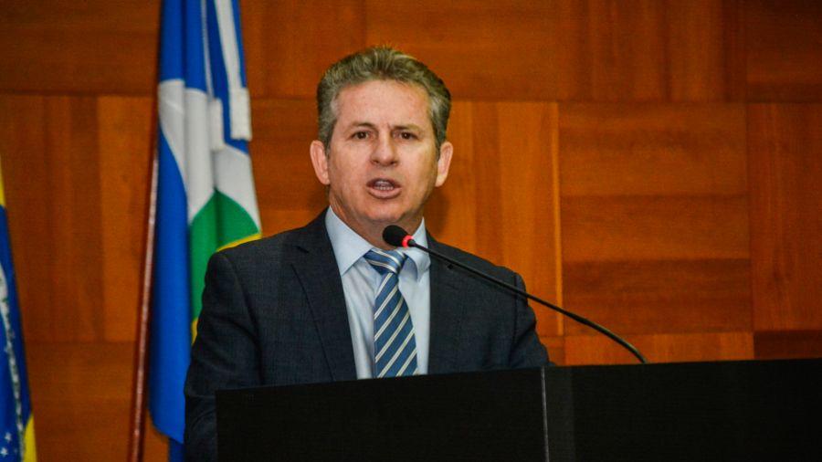Imagem: Mauro Mendes governador