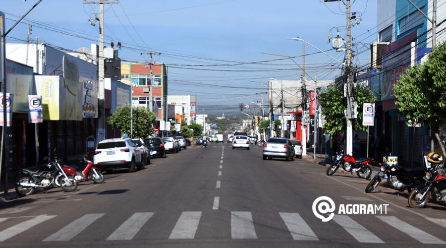 Imagem: comercio da area central fechado Rondonópolis gera 3.811 vagas de trabalho no primeiro semestre de 2021