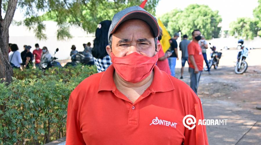 Imagem: Joao Eudes Sintep Com Covid-19, sindicalista alerta para aumento de casos em escolas estaduais