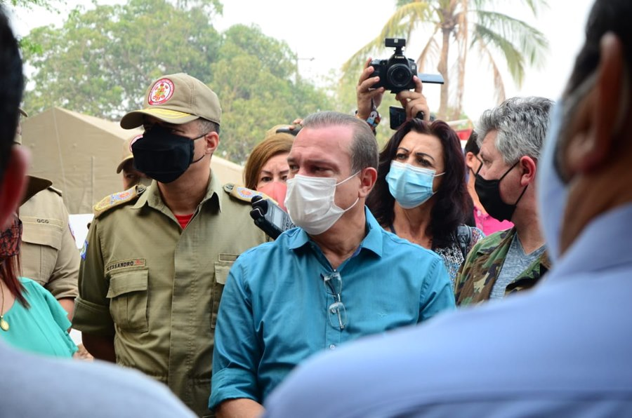 Imagem: Senador Wellington Fagundes Falta de recursos prejudicou combate aos incêndios no Pantanal