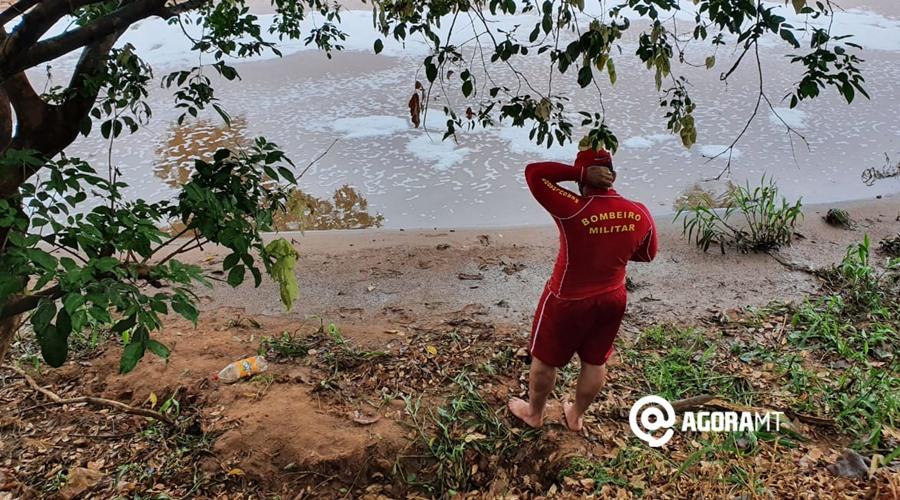 Imagem: Bombeiro localiza Corpo no Rio Vermelho Corpo é localizado boiando no Rio Vermelho