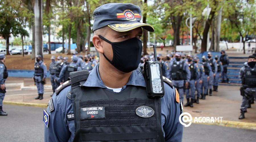 Imagem: Coronel Candido 1 PM reforça segurança no feriado de Finados em Rondonópolis e região