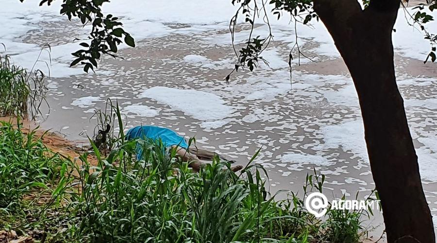 Imagem: Corpo localizado Corpo é localizado boiando no Rio Vermelho