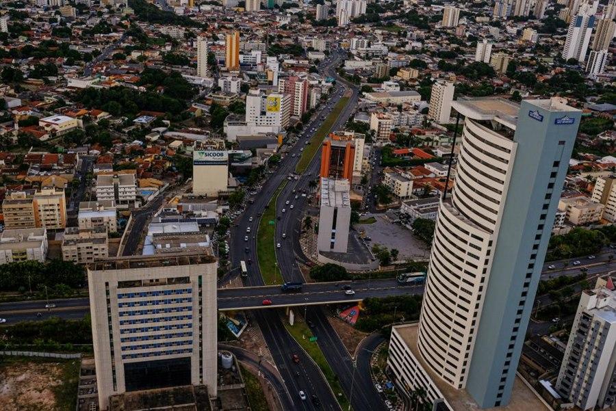 Imagem: Cuiaba Apenas um município está com risco moderado de contaminação de Covid-19 em MT