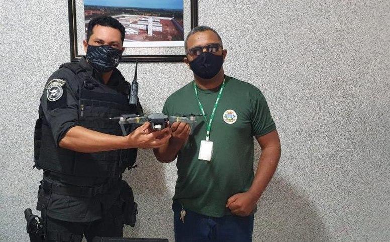 Imagem: Drone na Mata Grande Drones apreendidos na Penitenciária de Rondonópolis são doados para forças de segurança