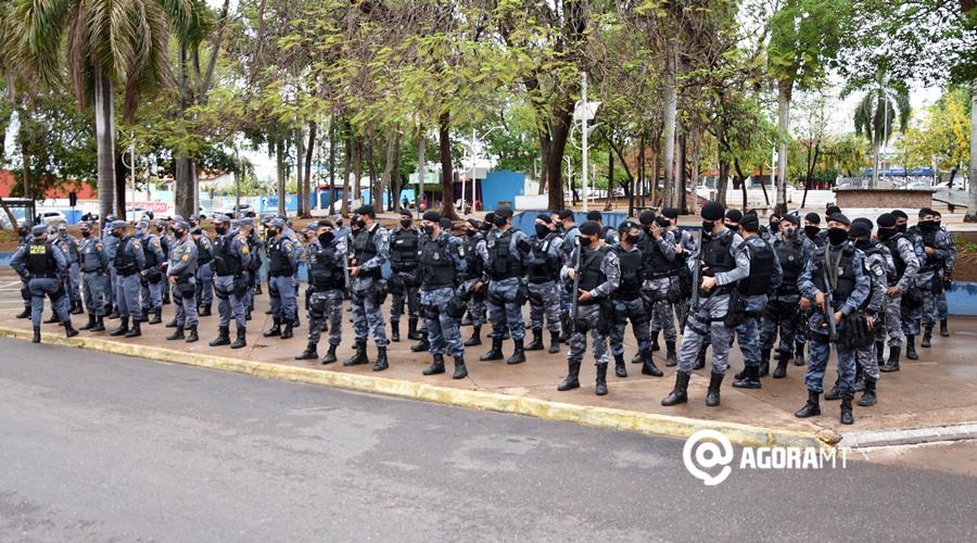 Imagem: Lancamento da Operacao PM reforça segurança no feriado de Finados em Rondonópolis e região