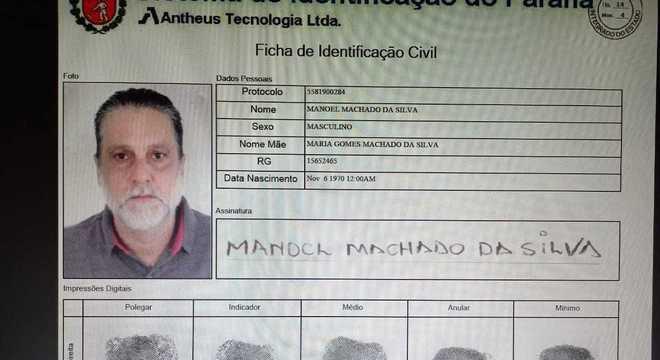 Imagem: PAULO Assassino do ator Rafael Miguel tirou RG falso durante fuga