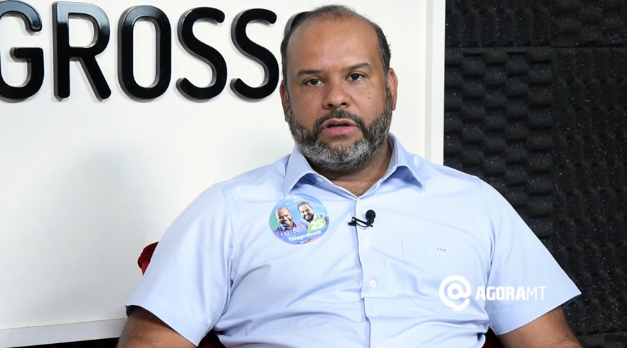 Imagem: Thiago Muniz Thiago Muniz confia no sistema eleitoral, mas considera voto impresso viável