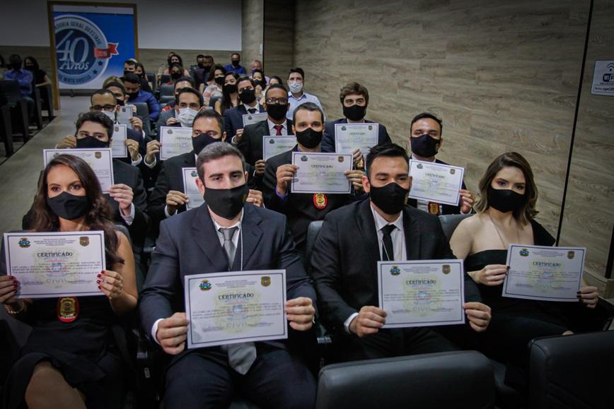Imagem: delegados Novos delegados irão atuar em 11 regionais no interior de MT