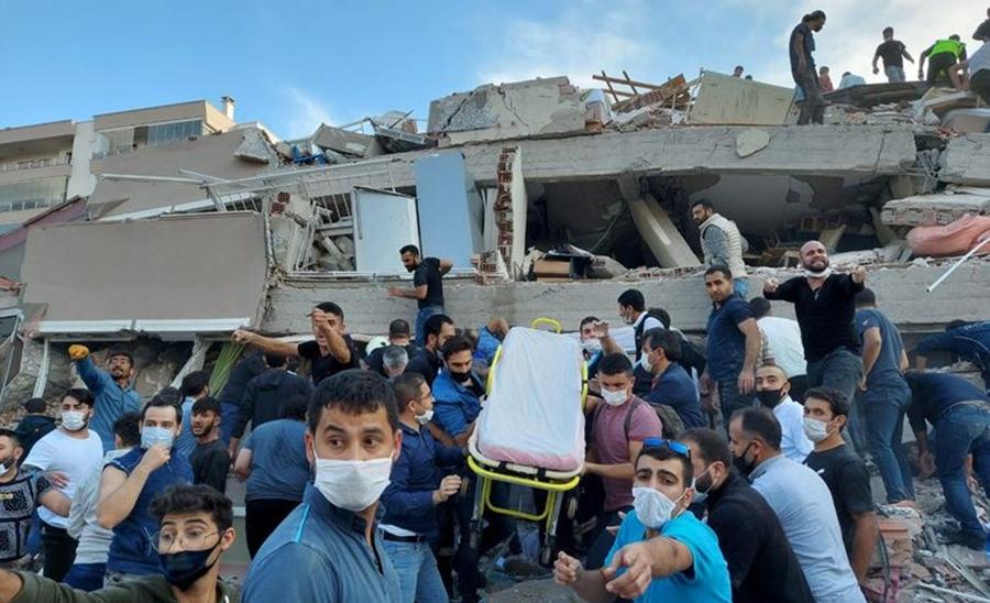Imagem: terremoto Forte terremoto atinge Mar Egeu, Turquia e Grécia