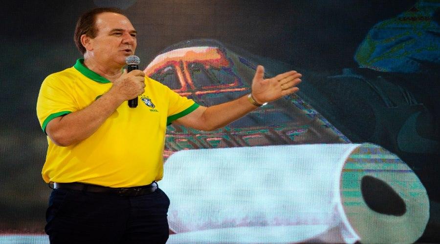 """Imagem: Candidato a prefeito Luizao Luizão: """"Vamos trabalhar para diminuir impostos e gerar mais empregos"""""""