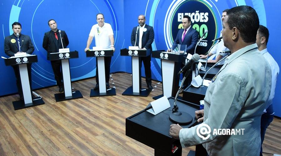 Imagem: Debate Record Ex-candidatos a prefeitura de Rondonópolis descartam fraude na eleição