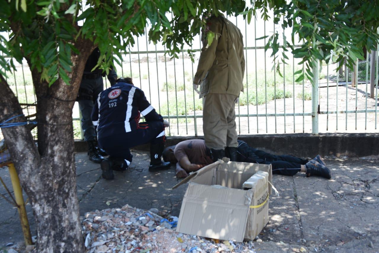 Imagem: Home morto Suspeito morto em assalto continua sem identificação no IML