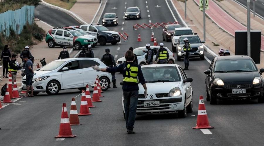 Imagem: LEI SECA Lei Seca   20 motoristas são autuados durante operação em Cuiabá