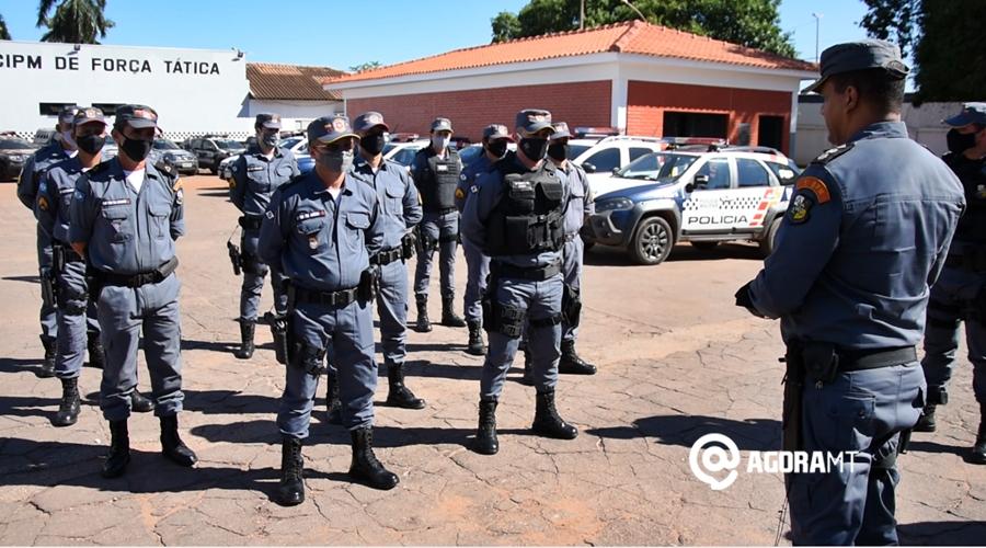 Imagem: Lancamento da Operacao Maria da Penha Guarnições do 5º BPM visitam vítimas de violência doméstica