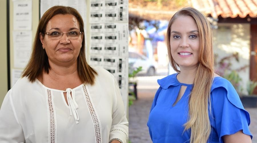 Imagem: Marildes Ferreira e Kalinka Meirelles vereadoras Kalynka Meirelles e Marildes Ferreira assumem vaga na Câmara