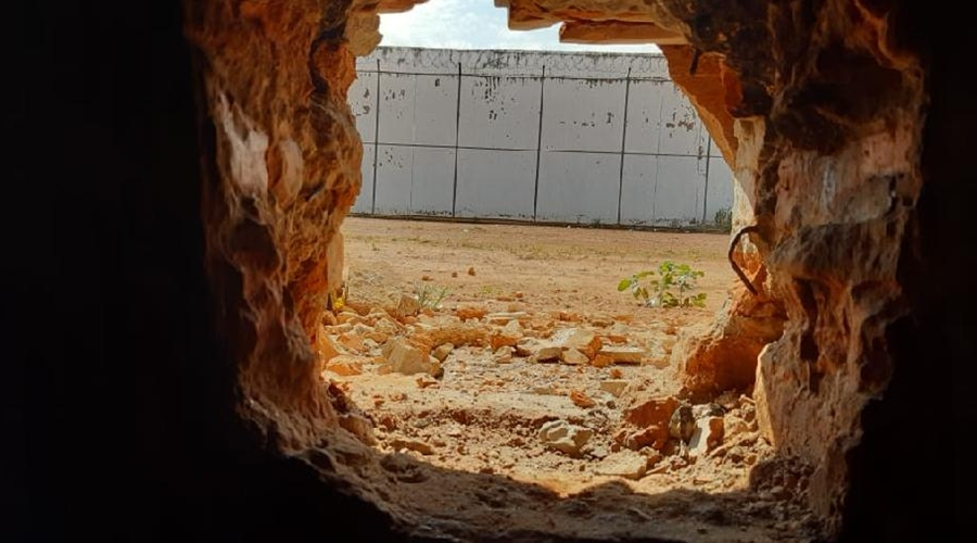 Imagem: Mata Grande Policiais penais evitam fuga de reeducandos da penitenciária da Mata Grande