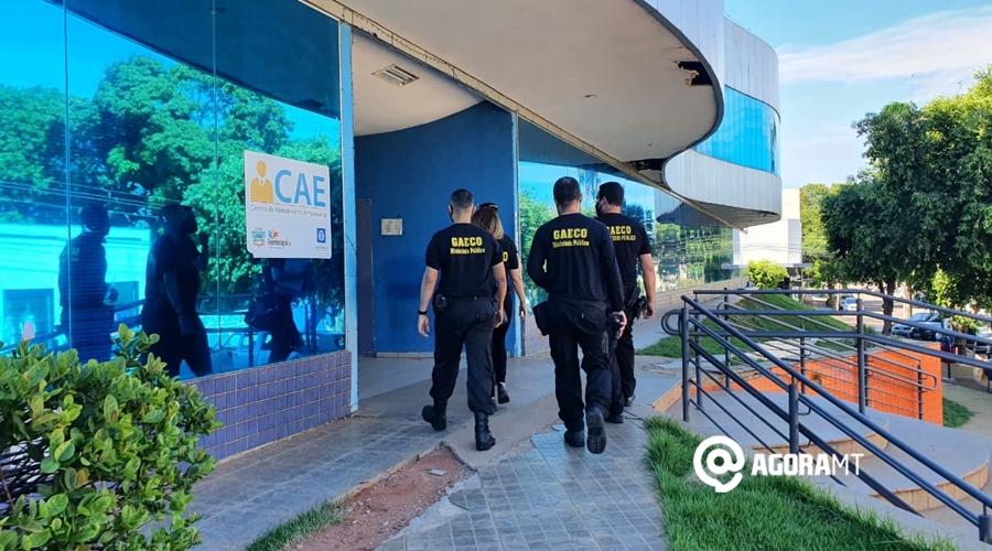 Imagem: Operacao do GAECO na Prefeitura de Rondonopolis Pátio tem segundo secretário afastado por conta de irregularidades com recursos da Covid-19