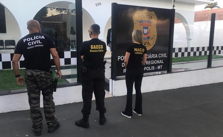 Imagem: Stop los Operação afasta mais um secretário e cumpre buscas em residência e gabinete do prefeito