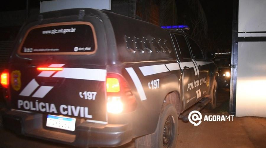 Imagem: Viatura da Policia Civil Jovem é preso suspeito de agredir mulher de 17 anos grávida