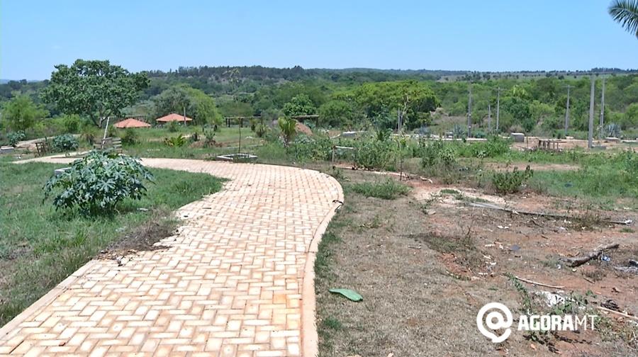 Imagem: escondidinho Nova licitação é realizada para retomada do Parque do Escondidinho