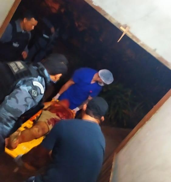 Imagem: idoso morre Idoso morre em confronto com a Polícia em MT