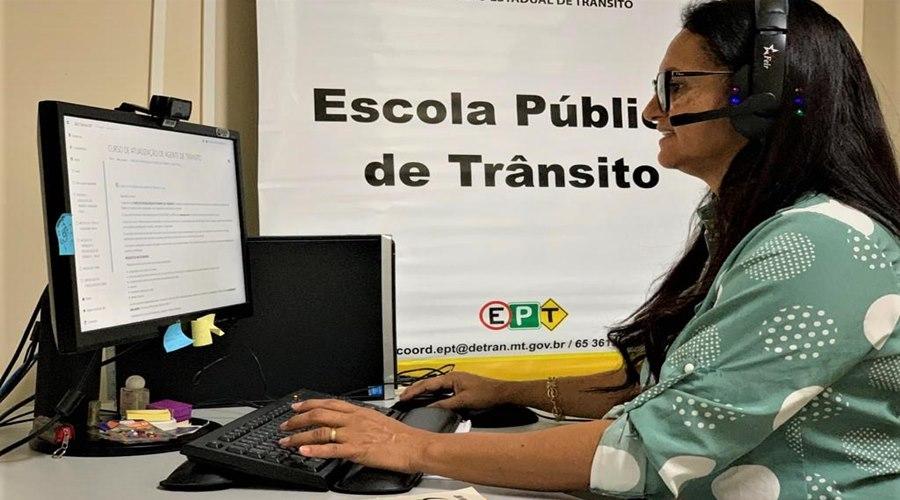 Imagem: Capacitacao no Detran 1 Escola Pública do Detran-MT capacita mais de 1.300 servidores