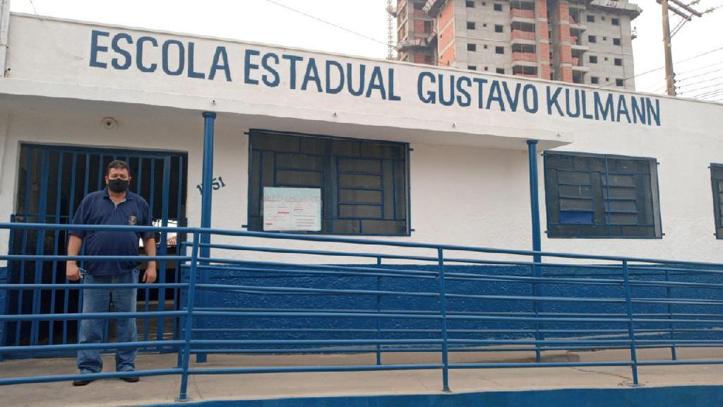 Imagem: ESCOLA GUSTAVO Escola de Mato Grosso aposta em projeto de mídias digitais