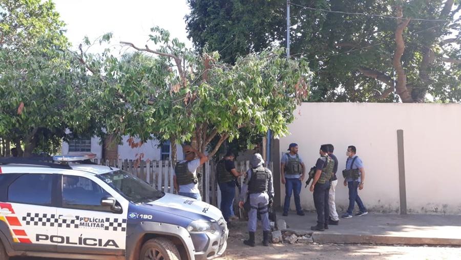 Imagem: Policia Civil Operação da Polícia Civil prende membros de Tribunal do Crime