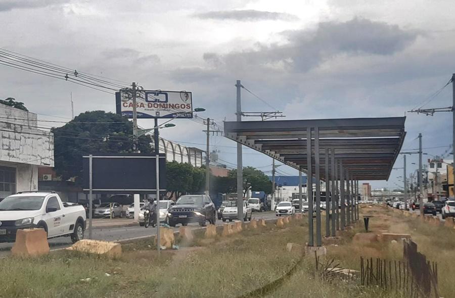 Imagem: VLT Mauro Mendes anuncia a substituição do VLT pelo BRT