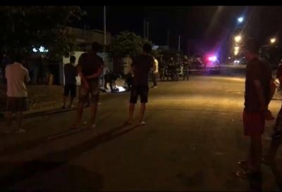 Imagem: fato Jovem é assassinado a tiros em Sinop