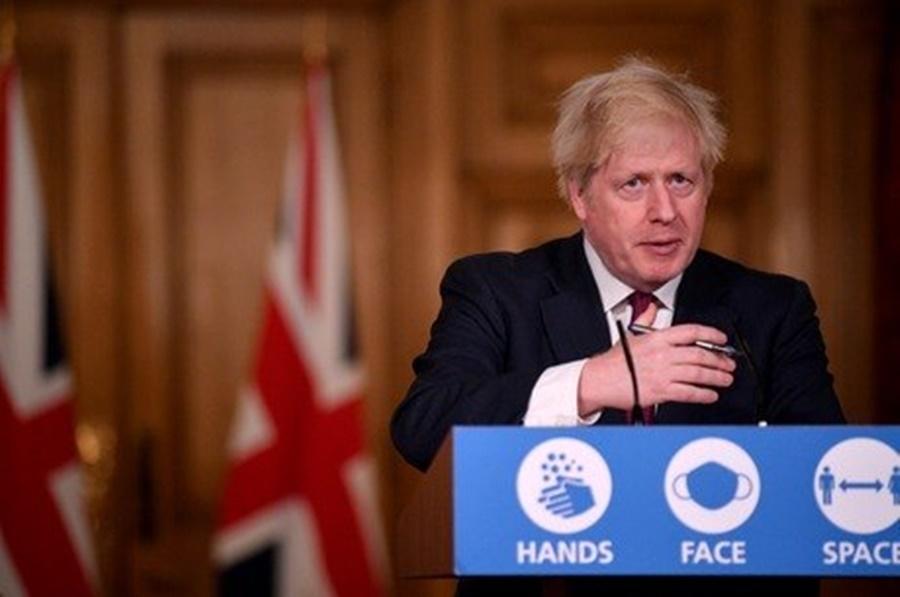 Imagem: primeiro ministtro Mutação do coronavírus faz Reino Unido impor mais restrições