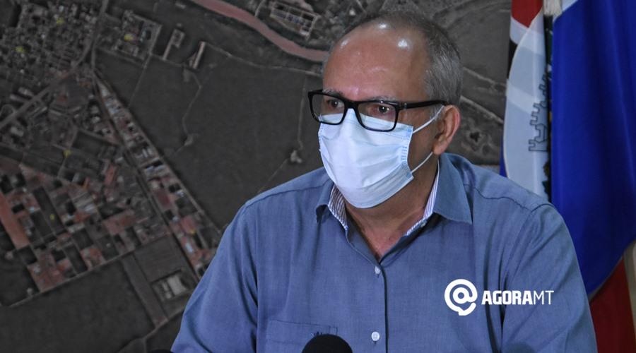 Imagem: Coletiva covid prefeitura Prefeitura de Rondonópolis publica decreto com restrições; veja o que mudou