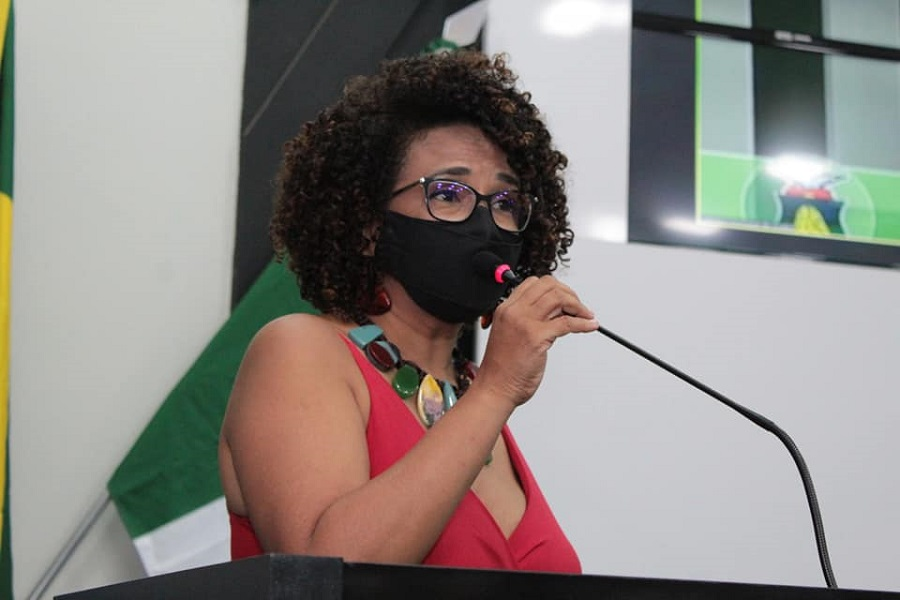 Imagem: Edna Sampaio Vereadora cuiabana quer lista de vacinados contra a Covid-19