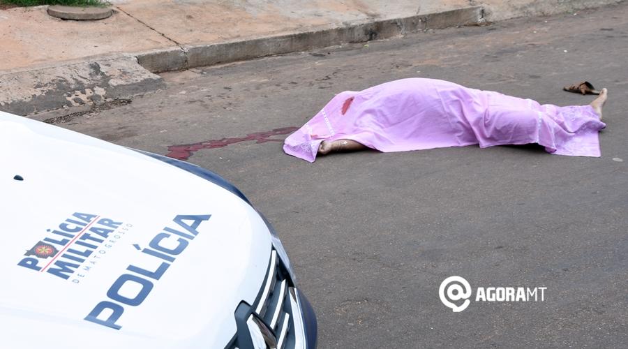 Imagem: Homem assassinado em plana luz do dia no Jardim Ana Carla Homem é assassinado no Ana Carla em Rondonópolis