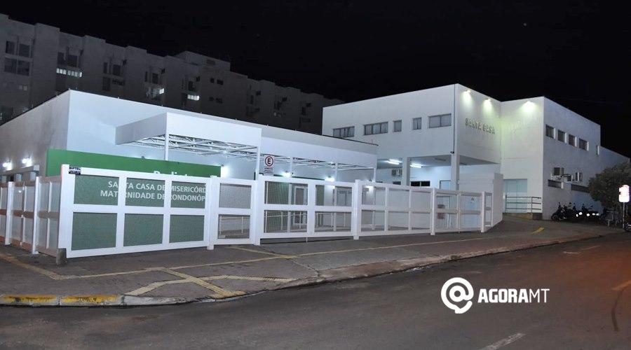 Imagem: Hospital Santa Casa de Rondonopolis Santa Casa deve receber recurso de R$ 10 milhões na próxima semana