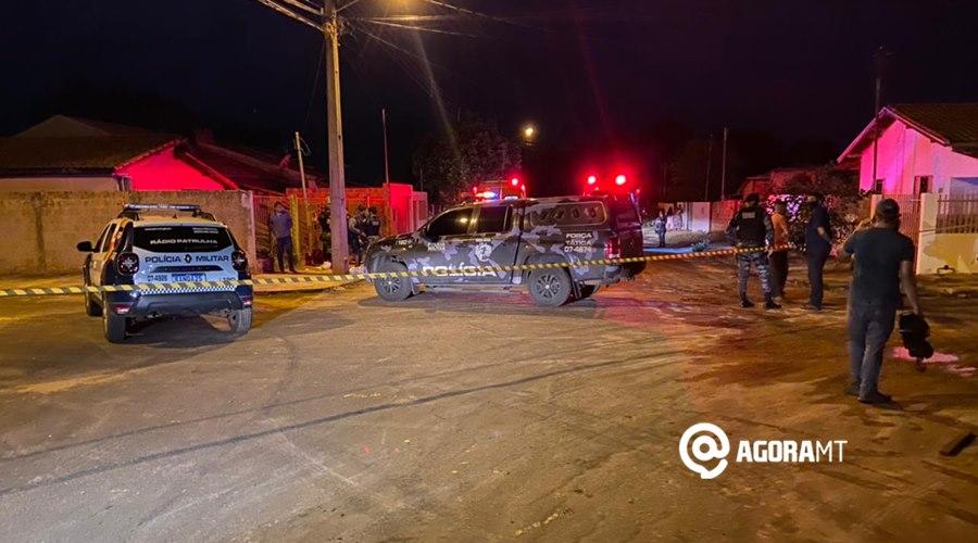Imagem: Individuo e baleado em Tangara da Serra Suspeito de tráfico é morto em troca de tiro com a PM