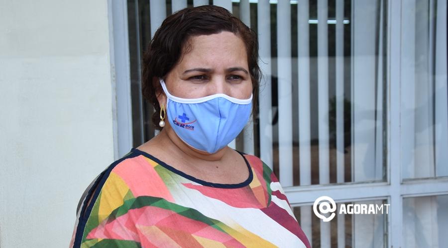 Imagem: Marilza vieira do nascimento Diretora escritorio regional roo Rondonópolis recebeu apenas 4.980 doses de vacina; região ficará com 9.958