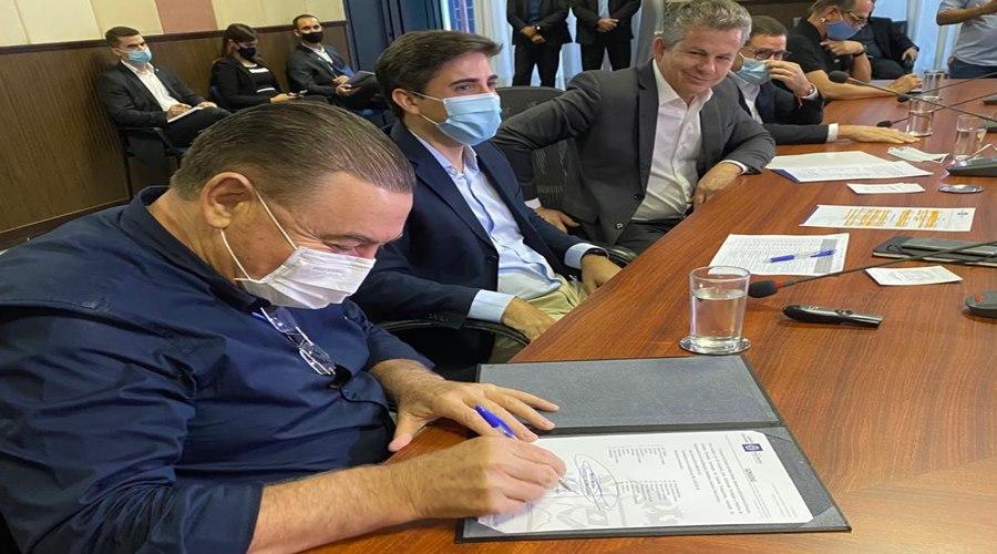 Imagem: Nininho Nininho destaca os investimentos na Educação com a assinatura de novos convênios