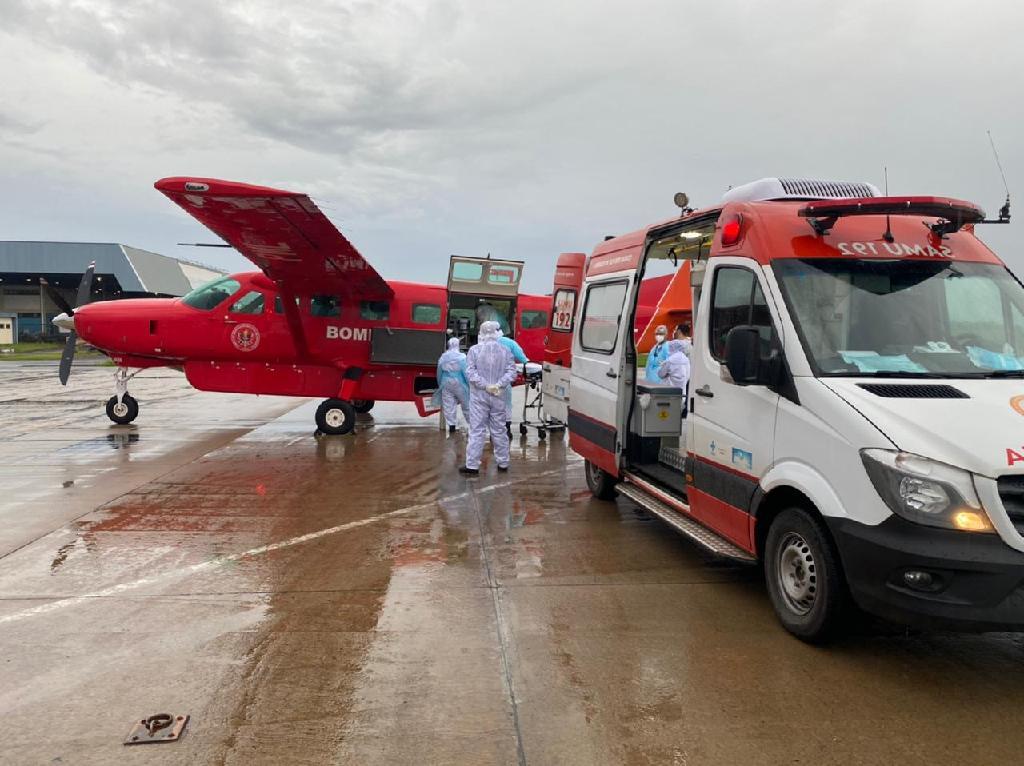 Imagem: Pacientes vindo de Rondonia 1 Mais pacientes de Rondônia chegam a MT e são internadas na UTI