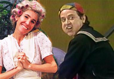 Imagem: RTEmagicC ffec31b547.jpg Intérprete de Quico revela affair com Dona Florinda de 'Chaves'