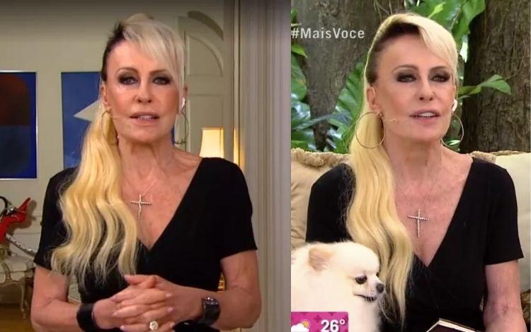 Imagem: design sem nome 2021 01 21t104935.768 Ana Maria Braga aparece com novo visual e é comparada a Lady Gaga