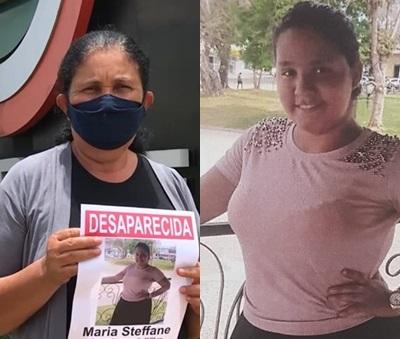Imagem: marinita e filha 1 Após matéria do AgoraMT, mãe encontra filha desaparecida