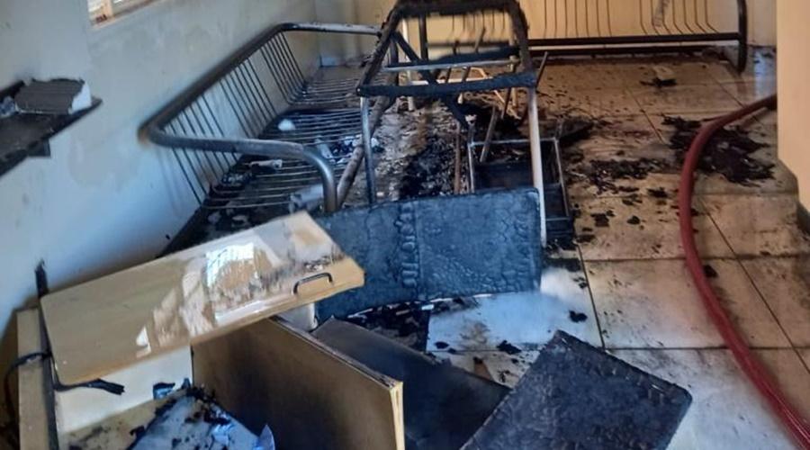 Imagem: 2f3937a8 af7e 496f ba80 b4702f2322c9 Empresa pega fogo na avenida Rio Branco