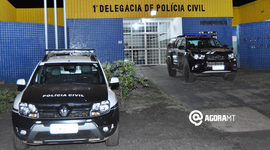 Imagem: 3 1 Homicida foragido da Justiça é preso ao registrar boletim de ocorrência em Rondonópolis